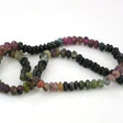 TOURMALINE GEMSTONE BEADS - RONDELLES 4MM